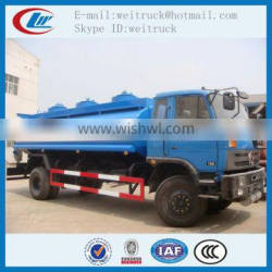Competitive advantage customized dongfeng 15cbm fuel transport tanker truck , fuel tanker trailer, fuel tank truck manufactures