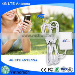 Yetnoson outdoor 4g antenna 698-2700mhz small 4g LTE antenna with double usb connector