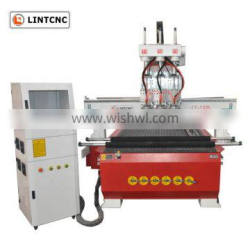 Vacuum pump control system small wood cutting machine