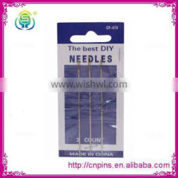 in stock wholesale cheap and good quality hand sewing needles for sewing a wig
