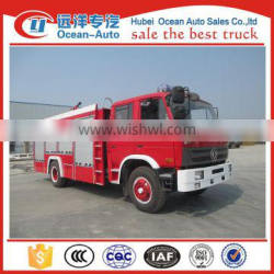 Dongfeng new rescue vehicle, fire fighting truck with 6000L capacity for sale