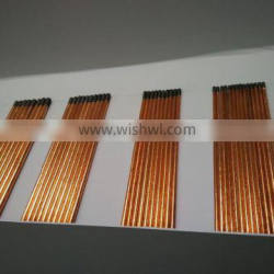 Round Copper Coated Jointed Gouging Rods / Carbon Electrode
