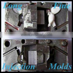 2015 China Xiamen Plastic Mold Factory Supply Injection Molded Parts