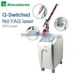 2016 amazon nd yag eyebrows q-switched tattoo removal beauty machine