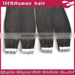 Elegant hair factory price fast delivery wholesale tape hair extensions indian remy tape hair extensions