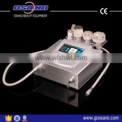 Tighten skin machine Liposuction Cellulite Reduction with vacuum RF handle
