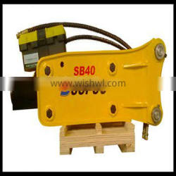 free spare parts Top type Excavator Rock hydraulic breaker with high quality