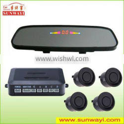 Smart blind spot detection car security parking sensor system