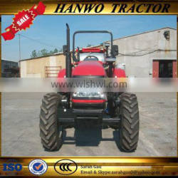 4WD Chinese Famous Powerful Engine Tractor for Sale Made in China