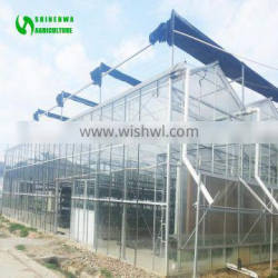 Low Cost Agricultural Miniature Glass Greenhouse