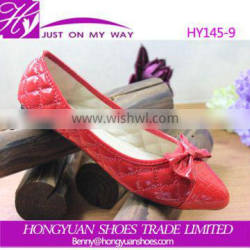 Fashion comfortable new model ladies flat shoes