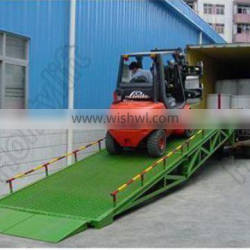 movable dock ramp Lowest discount portable container mobile yard ramp