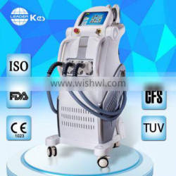 acne/Pigment treatment spa shr ipl hair removal multifunction beauty machine