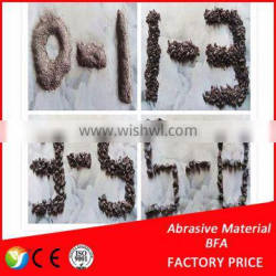 High purity emery / brown fused alumina for firebrick / refractory