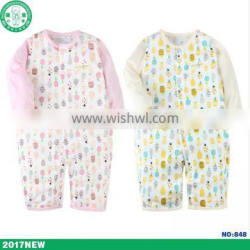 Importing from china factory full sleeve newborn baby romper for baby girl