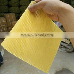 HoneyComb Beekeeping Equipment Beeswax Foundation Sheet Raw Yellow Beeswax Material