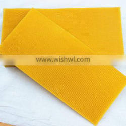 Chinese Supply Beeswax Foundation Sheet Popular In Europe For Export