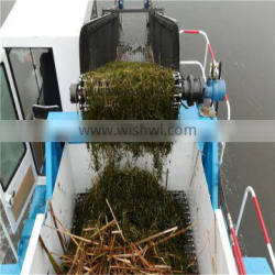 Easy to carry and operate river cleaning boat /water weed harvester