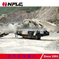 2016 hot sale professional jaw mobile crusher with ISO approval