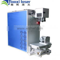 High Speed 30W Protable Fiber Laser Marking Machine for Metal and Non metal