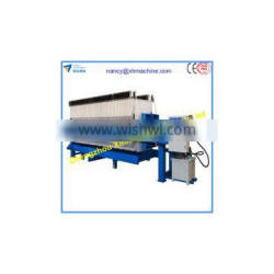 Chamber filter press for coal