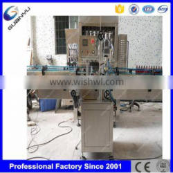 Durable fully automatic CE approved paste filling machine for cream shampoo