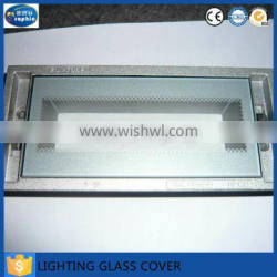 4mm 5mm toughened decorative toughened grassr cover for light
