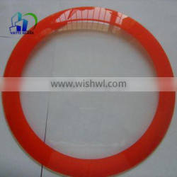 clear float glass for wall clock with silk-screen