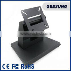 Folding lcd monitor metal stand table base