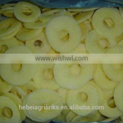 Frozen style A grade Chinese apple ring
