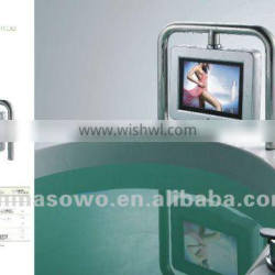 Aesthetic design & Good price baththub TV with remote control
