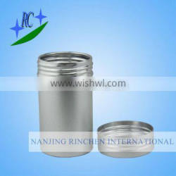 Aluminum essential oil cans with anodizing