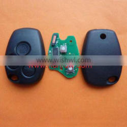 Renault 3 button universal remote control car key with 433Mhz and 7946 Chip