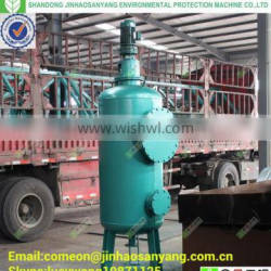 HLJ Walnut shell filter for oily waste water treatment