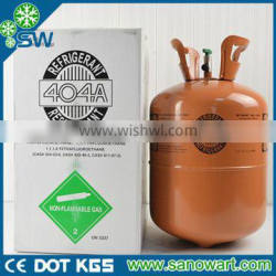 Refrigerant gas R404a cool gas R404a hot sale