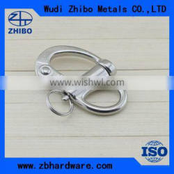 High polished stainless steel 304 / 316 material fixed snap shackle with top quality