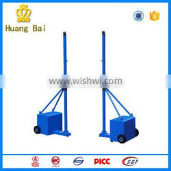 Outdoor fitness equipment mobile volleyball column for park