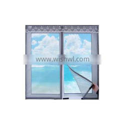 ODM&OEM products of DIY Shape and ALL Velcro Size window screen for keep warm
