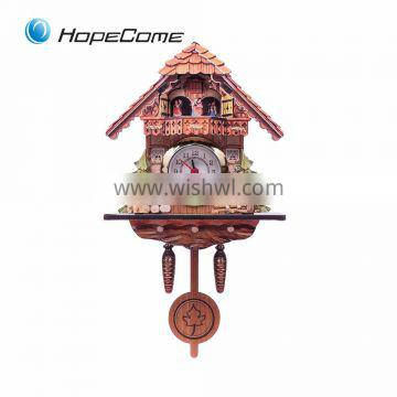Promotion Wooden Cuckoo Clock Kit Low Price Cuckoo Wall Clock