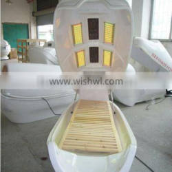 lying style infrared ray dry spa capsule with ozone