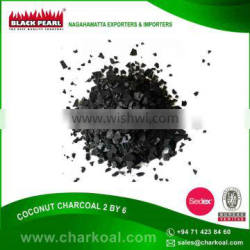2/6 Granulated Coconut Charcoal with Long 4-5 Hours Burning Time