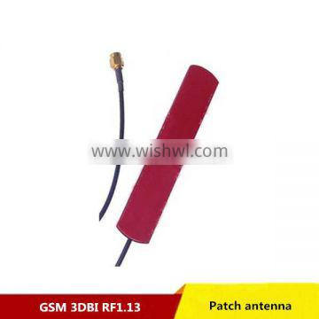 Factory Price 3dbi qualband 900/1800mhz gsm patch antenna with SMA male plug