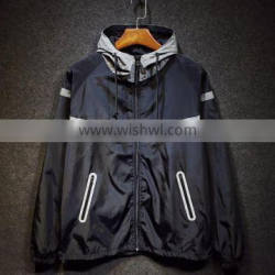2016 Lightweight Hooded Windbreaker Reflective Clothes