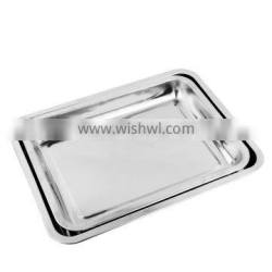 Wholesale High Quality Material 201 BBQ Stainless Steel baking Tray