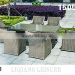 rattan round outdoor furniture