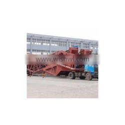 easy to be moved concrete mixing station YHZS50