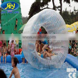 Inflatable Log Roll Inside Inflatable Ball