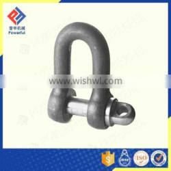 DROP FORGED BS3032 LARGE DEE SHACKLE