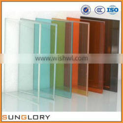 Clear , Tinted Laminated Building Glass