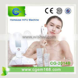 CG-2014 The newest 2015 portable hifu machine anti-aging beauty machine for acne & wrinkle removal